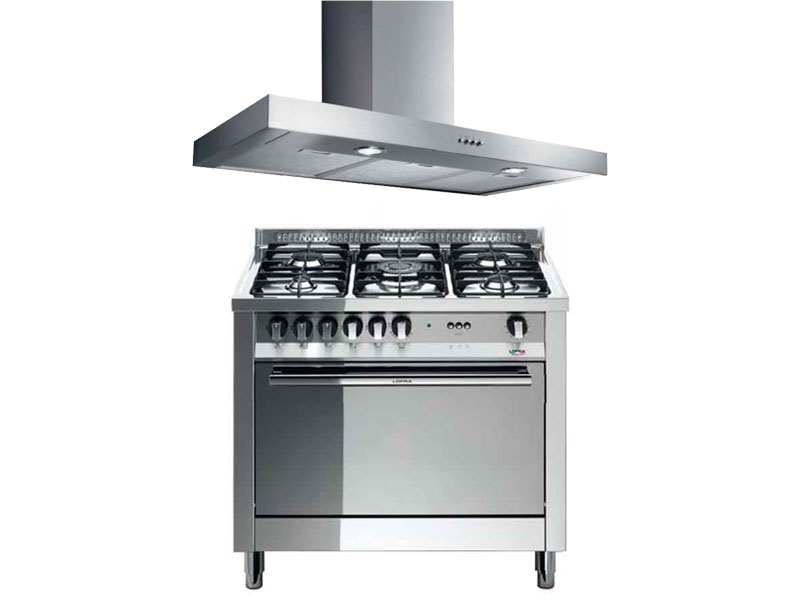 90cm Electric Oven + Free Extractor